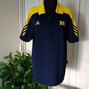 Adidas Michigan polo, medium